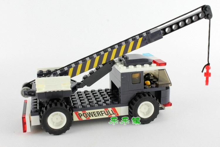 【乐高塑料/硬质积木】益智儿童玩具工程车拼插拼装5