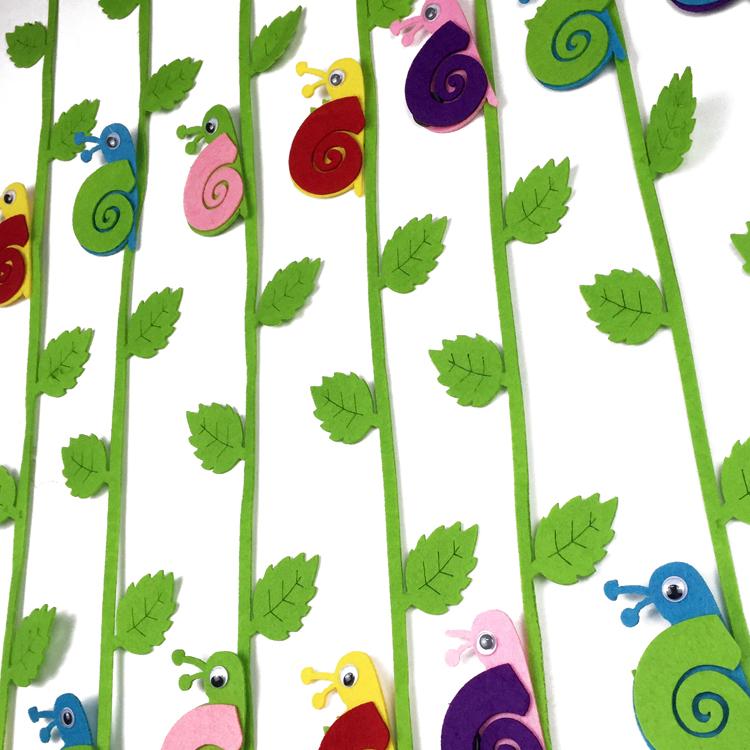 1米挂饰吊饰 幼儿园教室环境布置装饰吊饰 走廊空中 蜗牛款自带树枝条