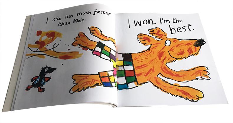 animal 神奇动物故事集20册图画故事书 英文原版绘本 大开本 animal a