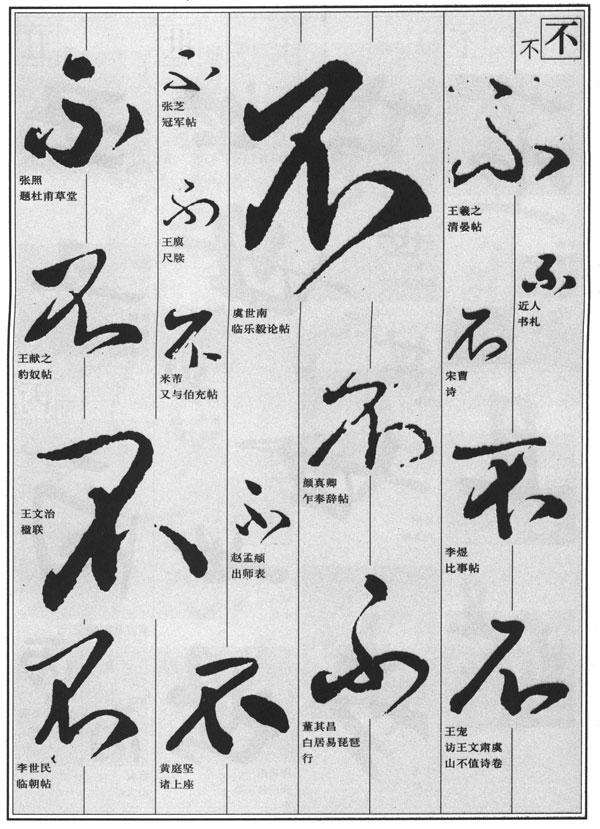 书法中的异体字_3,书法字迹中常见的简,繁,异体字多种字,本套书统一按繁体字头编排