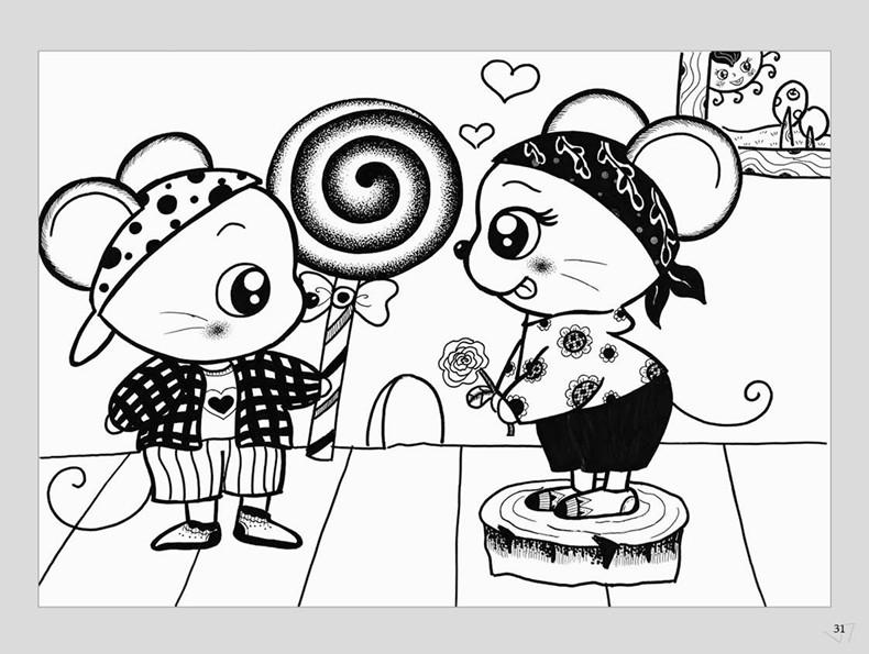 全6册儿童美术培训教学 创意童画创意线描上中下 儿童画基础教程教材