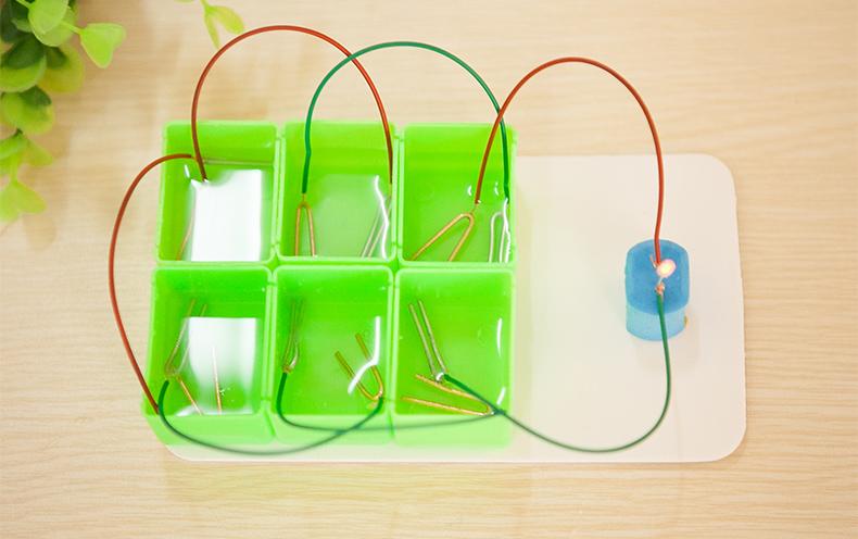 儿童礼物 小学生科学实验玩具 小牛顿科技小制作diy土豆水果电池