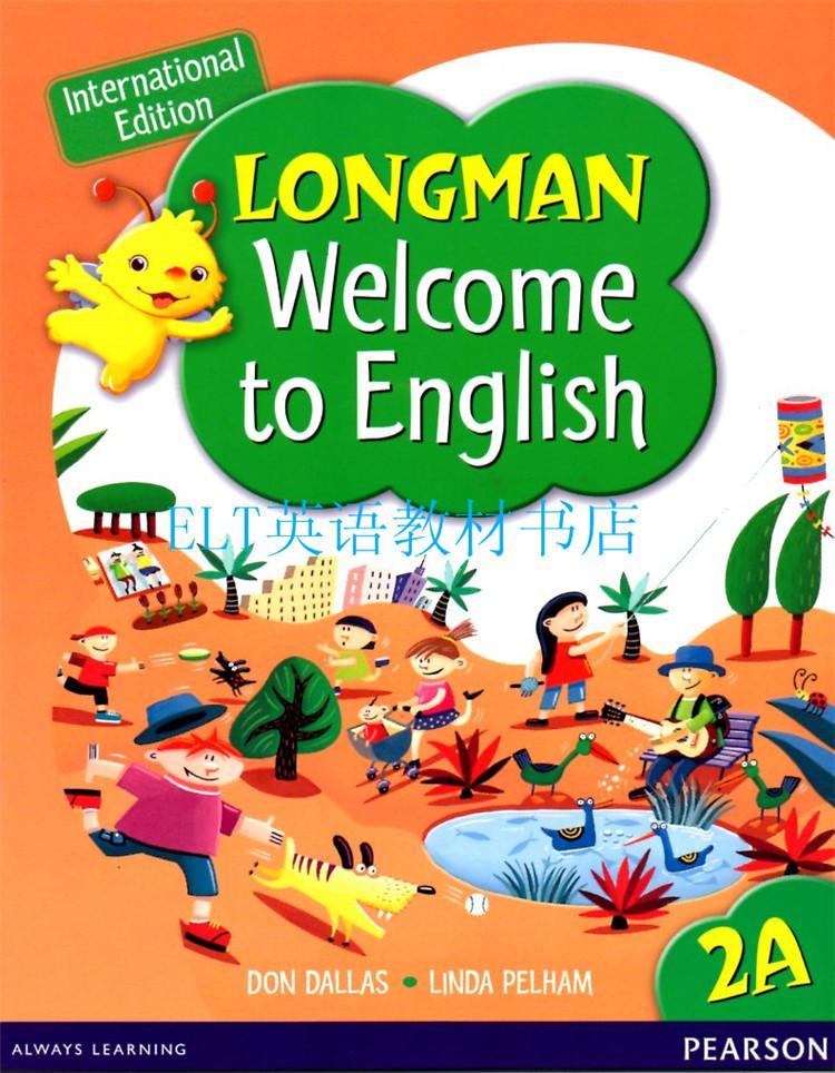 朗文�yan_香港朗文 小学英语教材全套welcome to english 2a课本+4本练习册