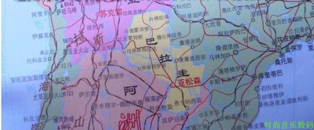 5米x1.1米 中国地图挂图1.5米*1.
