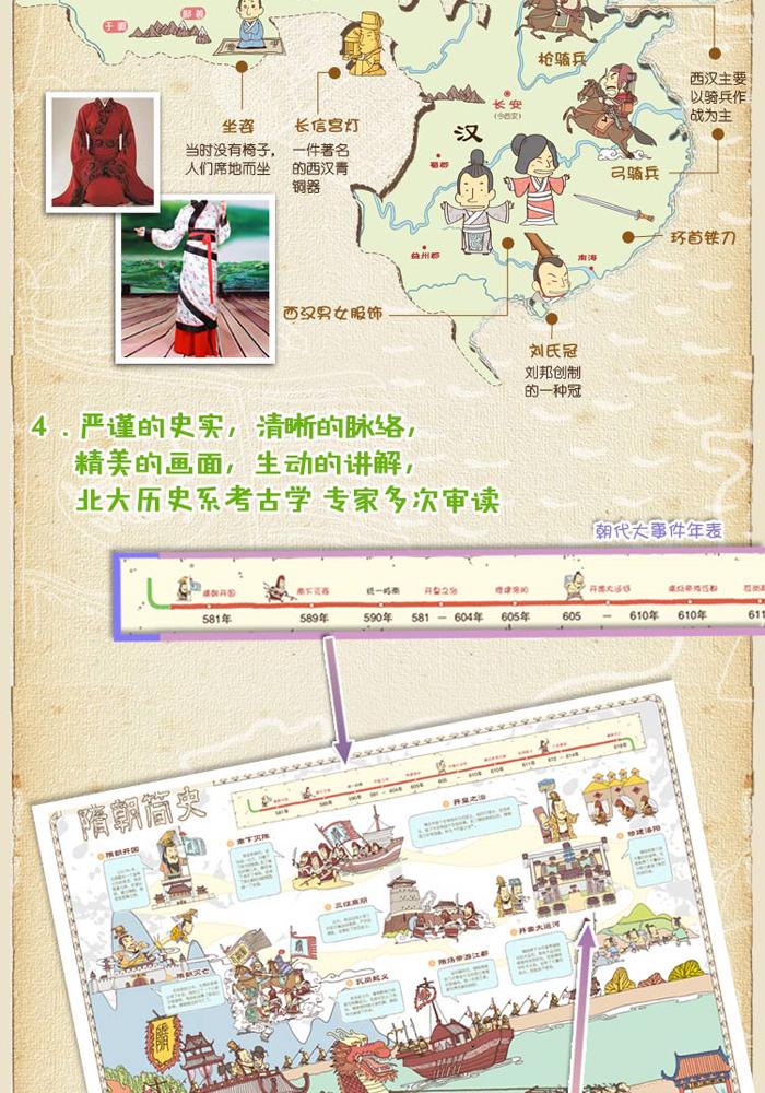 中国历史地图——手绘中国?人文版