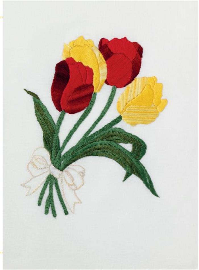 《欧式刺绣入门:花朵 [英]莱斯利·泰勒;谖草雁北