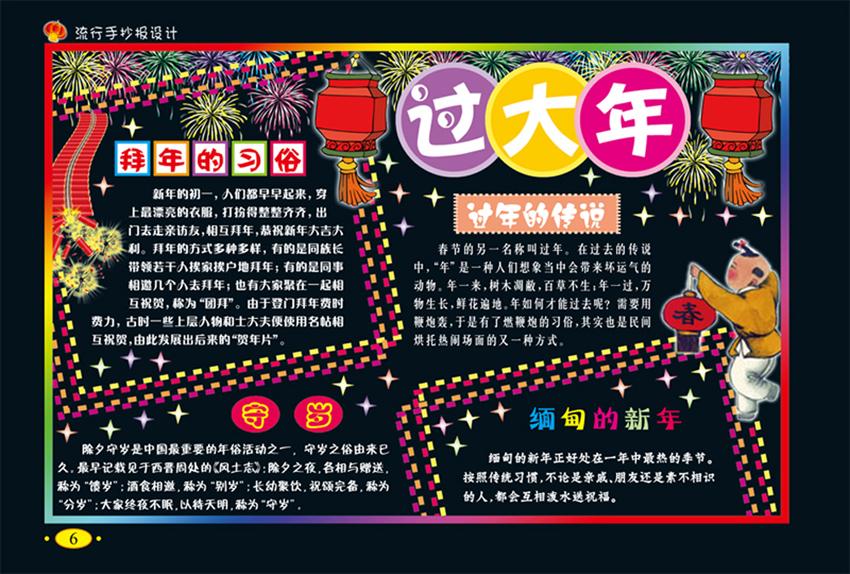 手抄报设计—欢庆节日手抄报  手抄报是中小学素质教育的一种重要形式