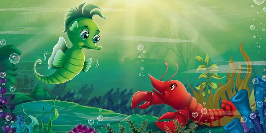 【全新正版】 海洋小动物历险记——我是谁