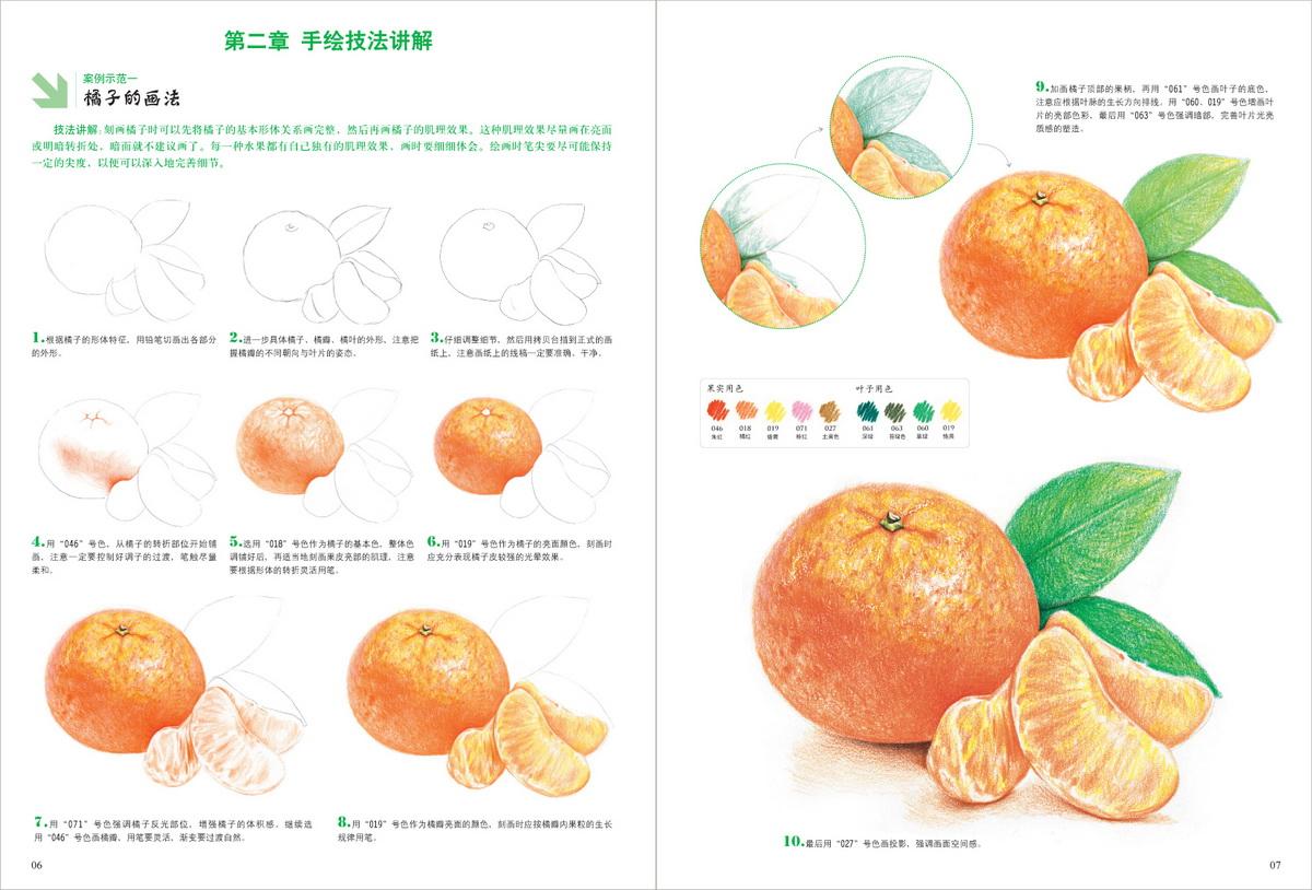 彩色铅笔画 香甜水果绘 王庆华 9787539867779