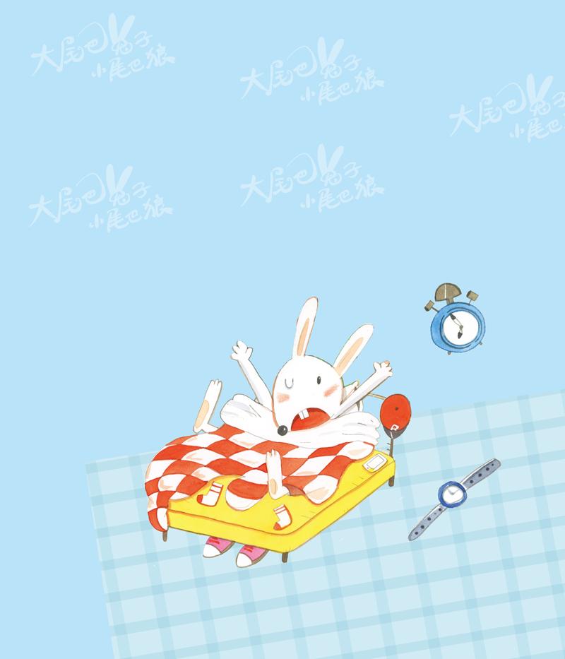 最小孩童书最动物系列 大尾巴兔子小尾巴狼1