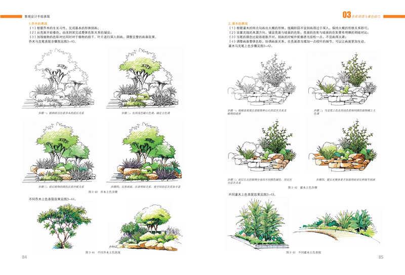 景观设计手绘表现/庐山艺术特训营教研组