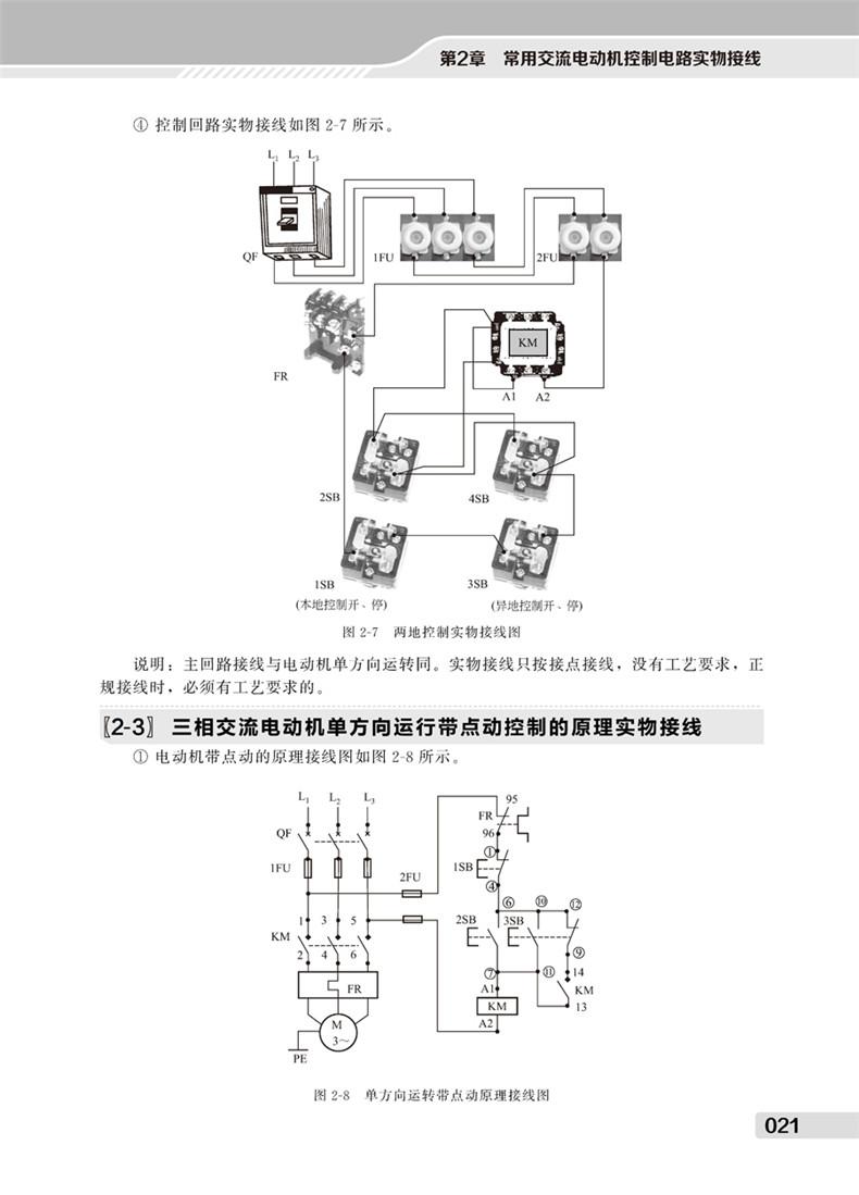 1947-10y3150型滚齿机的电气原理实物接线198第8章