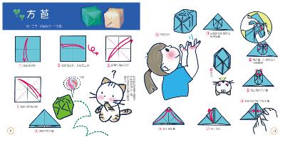 只要按照书中详细步骤和文字讲解,按照图案和顺序进行折纸,就可以折出